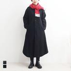 【予約商品】 have a good day ハブアグッドデイ Wool no collar coat ウールノーカラーコート (品番hgd-123)