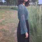 detail lace blouse 2721