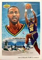 NBAカード 92-93UPPERDECK Karl Malone #44 JAZZ