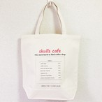 ブランド/SKULLS CAFE トートバッグ #008 (M/ナチュラル)厚手の素材