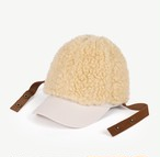 【THE ANIMALS OBSERVATORY 】ボア&CAPセット 3way HAMSTER HAT / 639-036FO