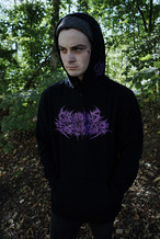 Gluttonous Slaughter LOGO HOODIE purple