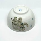 【砥部焼/輝山窯】こども食器・茶碗(ゾウ)