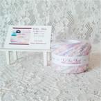 §koko§ 虹の花束 1玉32g以上  段染めリボン タム糸 フェザー コットン 引き揃え糸