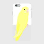 iPhoneケース セキセイインコ ダブルファクター【各機種対応】