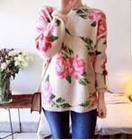 Romantic Flower Knit 3AW010-18  インスタでも話題の海外セレブ系レディースファッション Carpe Diem