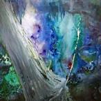 絵画 絵 ピクチャー 縁起画 モダン シェアハウス アートパネル アート art 14cm×14cm 一人暮らし 送料無料 インテリア 雑貨 壁掛け 置物 おしゃれ 水彩画 景色 木 自然 抽象画 ロココロ 画家 : MP 作品 : 覚醒への旅