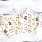 【リコリス】立体布マスク(猫)・大きめレディースサイズ/マスク