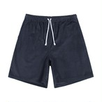Cord Drawstring Shorts(Pewter)