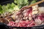 【しゃぶしゃぶ・すき焼き単品】山形村短角牛バラ1〜2人前