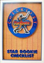 MLBカード 91UPPERDECK STAR ROOKIE CHECKLIST #001