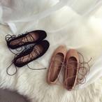suede lace flat shoes 1932