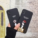 【オーダー商品】レオン マチルダ iphoneケース 可愛い 韓国  秋冬 韓国ファッション iphonexs iphonexr iphonexsmax