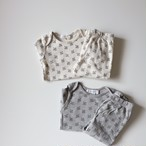 benebene BABY BREATH TWIN SET(全2色/6M〜18Mサイズ展開)