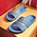 retro style denim sandal 1383