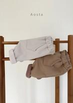 【予約販売】bambam pants〈Aosta〉