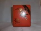 桜と燕の箱 lacquer ware box