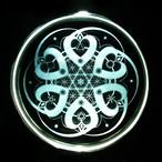 多層構造鏡魔法陣【The World -heart】 鏡+クリスタルサークルセット
