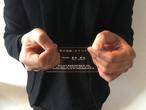 透明な名刺 ヨコ型 20枚
