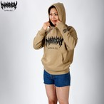 MARRION APPAREL LOGO HOODIE 2019 (Sand khaki)