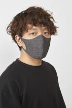 ぷるピッタマスク-Rサイズ  デニムコン、デニムクロ2枚セット #104