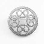 circle design brooch[b-158]