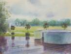 NO.56「雨のウッドデッキ・7月」