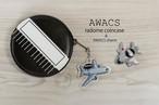 【セカンドロット予約開始】チヌたん/AWACSアクリルチャーム付きAWACSレドームコインケース(ボールチェーン付き)