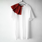REMOVABLE PLEATS COLLAR TEE / WOMEN