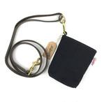 POOP BAG 犬のマナー袋用ケース + うんち入れ・ブラック