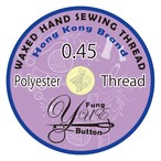 0.45 Yue Fung wax Polyester cord thread