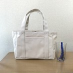 (受注生産)「ポケットトート」小サイズ「生成り」倉敷帆布8号