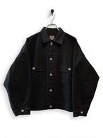 13.5oz Canvas Jacket / garment dyed / black
