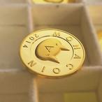 [受注製造]プルーフ純金モナコイン / K24 Gold Monacoin