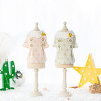 【犬服・ドッグウェア】Fancy House ハチの飾り付き パステルカラーのトップス