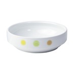 【1714-1010】強化磁器 14.5cm すくいやすい食器 えころ