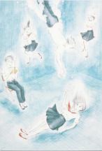 岡藤真依 / ポストカード「息が苦しくなるほどに跳ぶ」