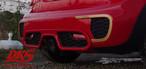 BMW MINI F JCW リアバンパー用 ステッカー