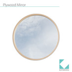 KATOMOKU plywood wall mirror km-48LN