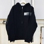 RE:OMG ZIP HOODY (BLACK) 送料込