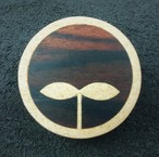 wooden inlaid charm IB-005-MP