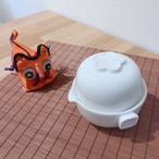《お試し茶葉付》オールインワン茶器セット【白色】