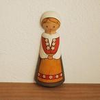 【スウェーデン】 AJA TRA UPPSALA 木製 壁掛け人形