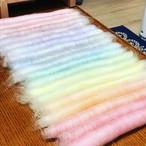 OGY10)虹色ローラグ オリジナルブレンド羊毛