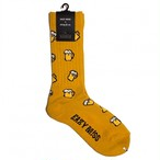 """Beer -yellow-"" Socks (limited edition by EAZY MISS)"