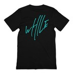 WHILE I REMEMBER Logo Tee - BLACK
