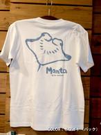 オリジナルTシャツミオ屋「マンタ」大人用