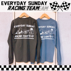 EVERYDAYSUNDAY RACING TEAM TEE(L/S)【VINTAGE EDITION】