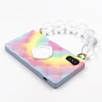 "SEAL STAMPED HANDBAG  ""TIEDYE"" for iPhoneXS/iPhoneX"