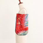【一点もの】No.6スカーフで作ったプチバッグ